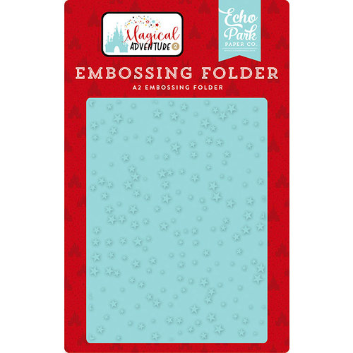 Echo Park - Magical Adventure 2 Collection - Embossing Folder - Make A Wish
