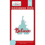 Echo Park - Magical Adventure 2 Collection - Designer Dies - Believe Castle
