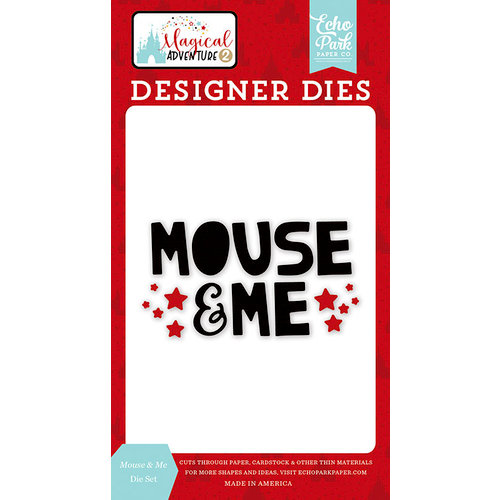 Echo Park - Magical Adventure 2 Collection - Designer Dies - Mouse and Me