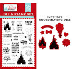 Echo Park - Magical Adventure 2 Collection - Designer Die and Clear Photopolymer Stamp Set - Our Favorite Thing
