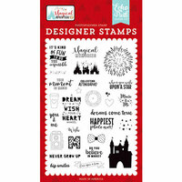 Echo Park - Magical Adventure 2 Collection - Clear Photopolymer Stamps - Dreams Come True