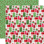 Echo Park - Merry and Bright Collection - Christmas - 12 x 12 Double Sided Paper - Merry Presents