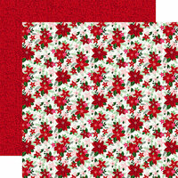 Echo Park - Merry and Bright Collection - Christmas - 12 x 12 Double Sided Paper - Bright Bouquet