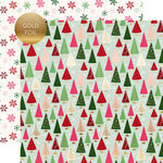 Echo Park - Merry and Bright Collection - Christmas - 12 x 12 Double Sided Paper with Foil Accents - Winter Wonderland