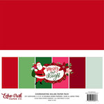 Echo Park - Merry and Bright Collection - Christmas - 12 x 12 Paper Pack - Solids