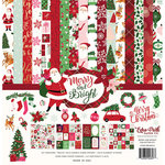 Echo Park - Merry and Bright Collection - Christmas - 12 x 12 Collection Kit with Foil Accents