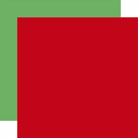 Echo Park - Merry and Bright Collection - Christmas - 12 x 12 Double Sided Paper - Red