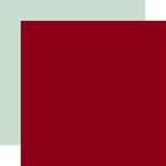 Echo Park - Merry and Bright Collection - Christmas - 12 x 12 Double Sided Paper - Cranberry