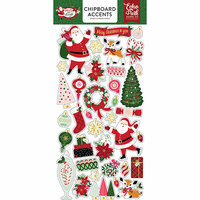 Echo Park - Merry and Bright Collection - Christmas - Chipboard Stickers - Accents