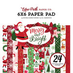 Echo Park - Merry and Bright Collection - Christmas - 6 x 6 Paper Pad