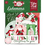 Echo Park - Merry and Bright Collection - Christmas - Ephemera