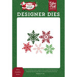 Echo Park - Merry and Bright Collection - Christmas - Designer Dies - Merry Snowflakes