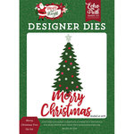 Echo Park - Merry and Bright Collection - Christmas - Designer Dies - Merry Christmas Tree