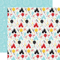 Echo Park - Magical Birthday Boy Collection - 12 x 12 Double Sided Paper - Party Time