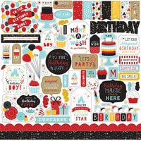 Echo Park - Magical Birthday Boy Collection - 12 x 12 Cardstock Stickers - Elements