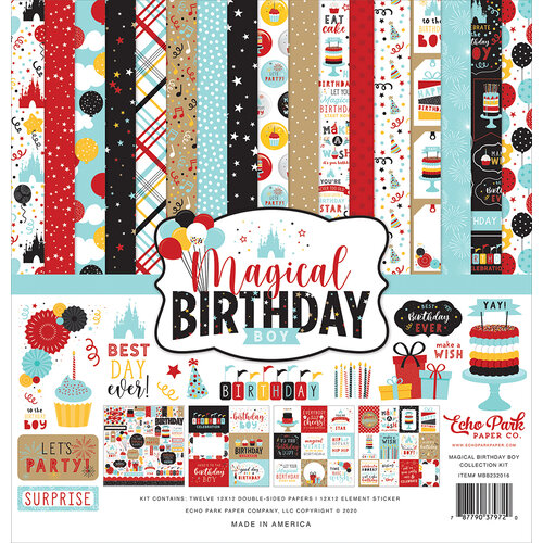 Echo Park - Magical Birthday Boy Collection - 12 x 12 Collection Kit