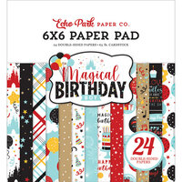 Echo Park - Magical Birthday Boy Collection - 6 x 6 Paper Pad