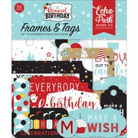 Echo Park - Magical Birthday Boy Collection - Ephemera - Frames and Tags