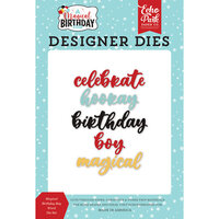 Echo Park - Magical Birthday Boy Collection - Designer Dies - Word