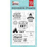 Echo Park - Magical Birthday Boy Collection - Clear Photopolymer Stamps - Wishes Come True