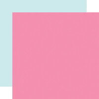Echo Park - Magical Birthday Girl Collection - 12 x 12 Double Sided Paper - Dark Pink