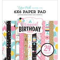 Echo Park - Magical Birthday Girl Collection - 6 x 6 Paper Pad