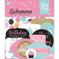 Echo Park - Magical Birthday Girl Collection - Ephemera