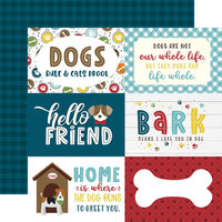Echo Park - My Dog Collection - 12 x 12 Double Sided Paper - 6 x 4 Journaling Cards