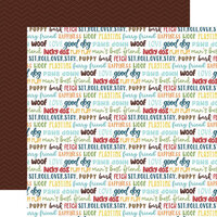 Echo Park - My Dog Collection - 12 x 12 Double Sided Paper - Good Dog
