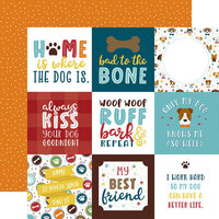 Echo Park - My Dog Collection - 12 x 12 Double Sided Paper - 4 x 4 Journaling Cards