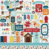 Echo Park - My Dog Collection - 12 x 12 Cardstock Stickers - Elements