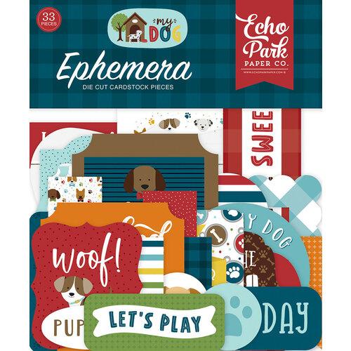 Echo Park - My Dog Collection - Ephemera