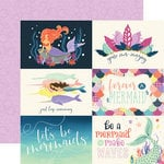 Echo Park - Mermaid Dreams Collection - 12 x 12 Double Sided Paper - 6 x 4 Journaling Cards