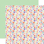 Echo Park - Mermaid Dreams Collection - 12 x 12 Double Sided Paper - Starfish Kisses