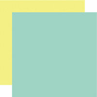 Echo Park - Mermaid Dreams Collection - 12 x 12 Double Sided Paper - Teal