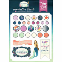 Echo Park - Mermaid Dreams Collection - Decorative Brads