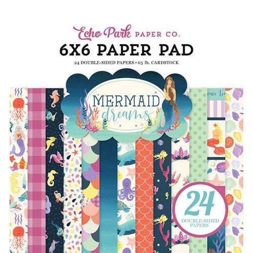 Echo Park - Mermaid Dreams Collection - 6 x 6 Paper Pad