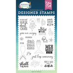 Echo Park - Mermaid Dreams Collection - Clear Photopolymer Stamps - Be A Mermaid