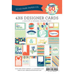 Echo Park - Happy-Go-Lucky Collection - 4 x 6 Pocket Page Cards - Memos
