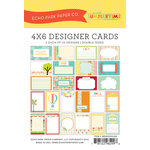 Echo Park - Sweet Summertime Collection - 4 x 6 Pocket Page Cards - Memos