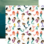 Echo Park - Mermaid Tales Collection - 12 x 12 Double Sided Paper - Magical Mermaids