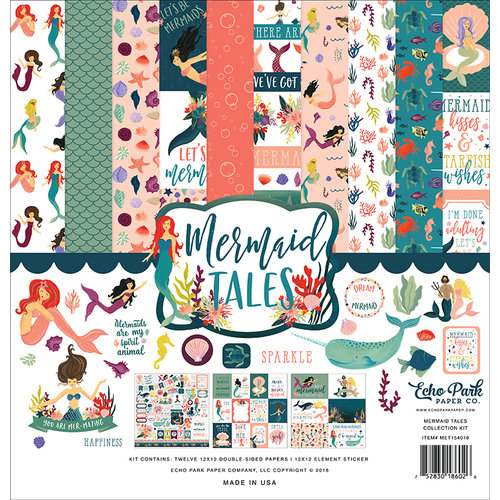 Echo Park - Mermaid Tales Collection - 12 x 12 Collection Kit
