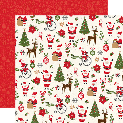 Echo Park - My Favorite Christmas Collection - 12 x 12 Double Side Paper - Christmas Fun
