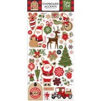 Echo Park - My Favorite Christmas Collection - Chipboard Stickers - Accents