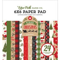 Echo Park - My Favorite Christmas Collection - 6 x 6 Paper Pad