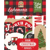 Echo Park - My Favorite Christmas Collection - Ephemera