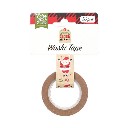 Echo Park - My Favorite Christmas Collection - Decorative Tape - Celebrate Santa