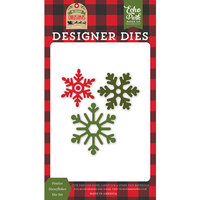 Echo Park - My Favorite Christmas Collection - Designer Dies - Festive Snowflakes