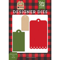 Echo Park - My Favorite Christmas Collection - Designer Dies - Christmas Gift Tags