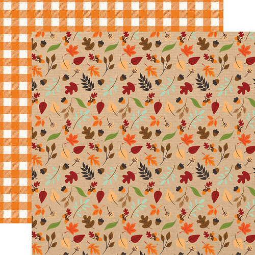 Echo Park - My Favorite Fall Collection - 12 x 12 Double Sided Paper - Fall Breeze